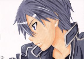 Kirito - Kirigaya Kazuto COPIC by TobeyD