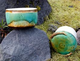 French Butter Dish- Trilobites by Frost-indri