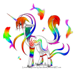 Rainbow Aesulkie auction! by Dkp98
