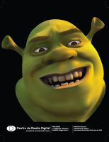 Shrek 3D by Tomoe21