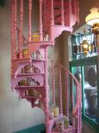 Pink Staircase by kjtgp1