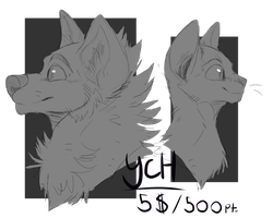 Canine and Feline Icon YCH (5 SLOTS) by Crisadence