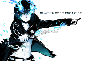 Black Rock Exorcist by rasu-chi