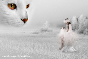 White embrace by almandyn