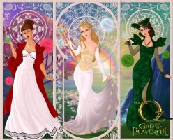 Oz the great and powerful witches... by LadyRaw90