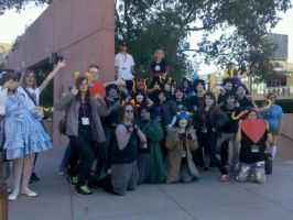 Fun times at Phoenix Comicon by girluver5