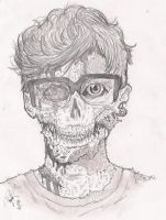 Me in zombie version by DRPauloR