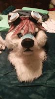 fursuit head by Haunted9
