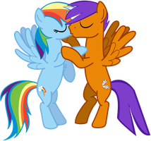 Pegasi Lovers by BigDream64