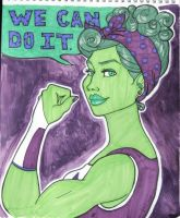 Shulkie - We Can Do It by happyeverafter