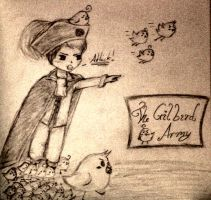 The Gilbird Army! by mell1you0
