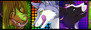 Icon Commission Batch 2 by Majime