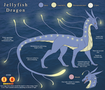 Jellyfish Dragon Reference Sheet by The-Nutkase