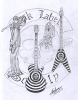 Zakk Wylde and guitars by WaChuLeRuXx