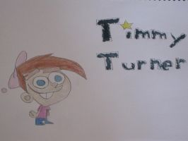 Timmy Turner - OddParents by Wilfre-colour
