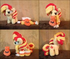 Chibi Sunset Shimmer - Extra Pictures! by HollyIvyDesigns
