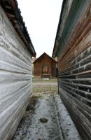 Bannack Ghost Town 406 by Falln-Stock