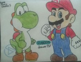 Just Some Mario Doodles 3 by RANDOM-drawer357