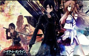 Sword Art Online Wallpaper by lYuno