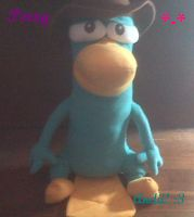 My Perry ,The Agent P, Plushie :D by AndiiGrr