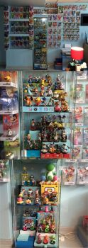 Amiibo Collection: Jan-July 2016 by Nintendrawer