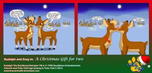 A Christmas Gift For Two by AntoninoCanino82