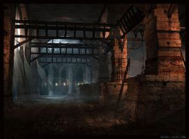 Workshot Alley... by Raphael-Lacoste