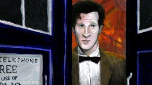 Eleventh Doctor by Draculasaurus
