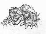 BIONICLE Snapping Turtle by Vrahno