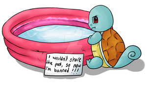 Squirtle Shaming by HONNUH