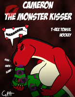 T-Rex Tonsil Hockey by microdude87