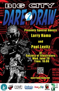 Dare2Draw w/Special Guest Larry Hama, June 20th by Dare2Draw