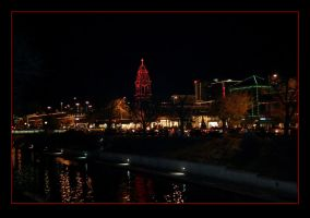 Country Club Plaza Christmas by xpansis