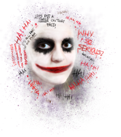 Joker design by L-Justine