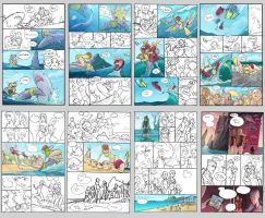 Rio Dolphin Force Comic (layout pages9-16) by alexichabane
