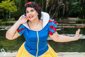 Snow White in the park by Danichan22