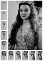 Margaery WIP by ladysofhousen