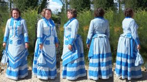 1872 seaside dress by Janes-Wardrobe