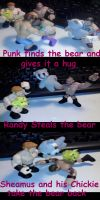 The Bear Fight Comic Page 2 by Fallonkyra