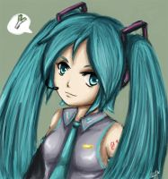 Hatsune Miku by leziith