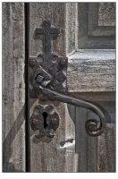 Mission Concepcion Door Handle by shawn529