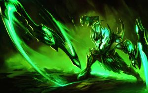 Toxic draven League of Legends by Neskoff