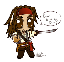 Jack Sparrow by ShebumDevi