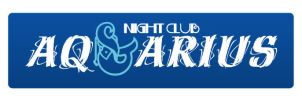 Night club Aquarius logo by plechi