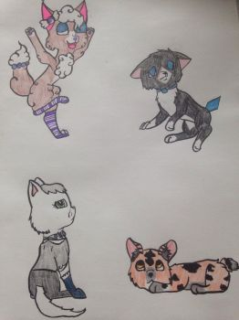 Themed adoptables ( OPEN ) by Smokecoveredstar