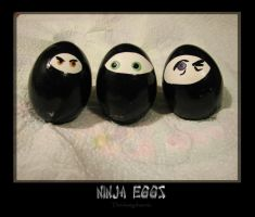 Ninja Eggs by thedustyphoenix