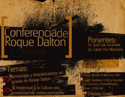 Conferencia sobre Roque Dalton by xeddddyx