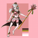 :OPEN: Flora Elf Adoptable by MissMignonne