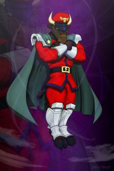 M. Bison Furred Strike by Foot-paws