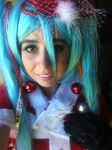 Merry Miku by anime-lover64